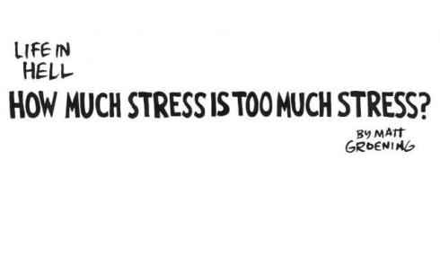How Much Stress Is Too Much Stress?